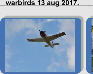 warbirds 13 aug 2017.